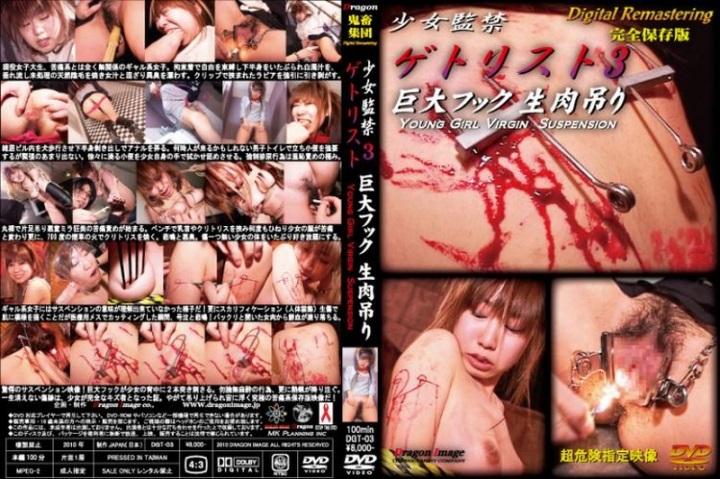 [DGT-03] 少女監禁 ゲトリスト 3 巨大フック生肉吊り SM DragonImage Gal Humiliation 1.67 GB