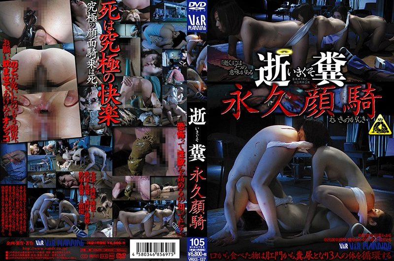 [VRXS-137] 逝糞 ~永久顔騎~ Amateur Facesitting 飲尿 顔面騎乗 素人 Schoolgirls Piss Drinking 1.59 GB