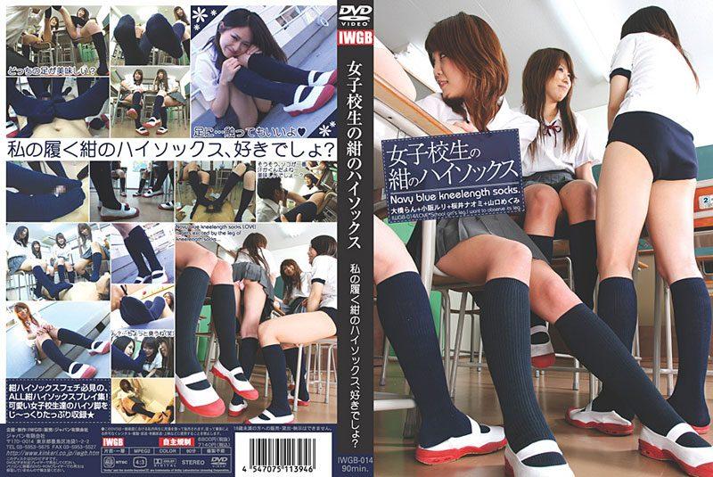 [IWGB-014] 女子校生の紺のハイソックス 895 MB
