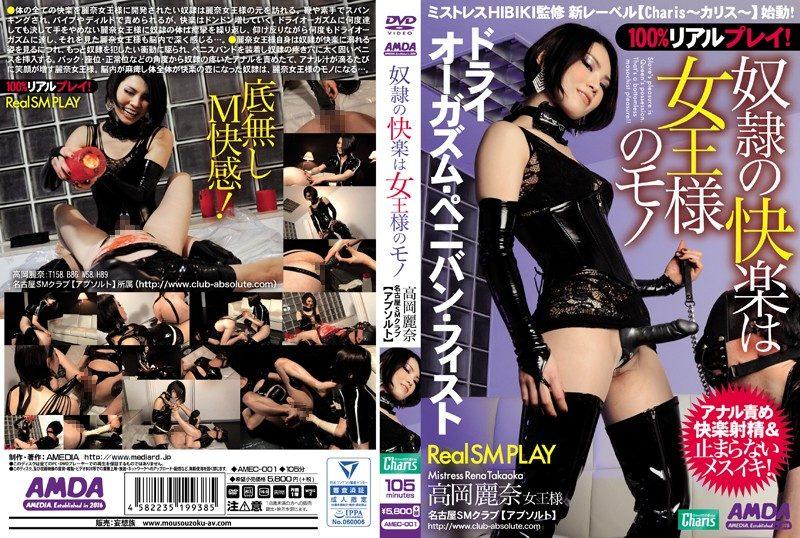 [AMEC-001] 奴隷の快楽は女王様のモノ 高岡麗奈 557 MB