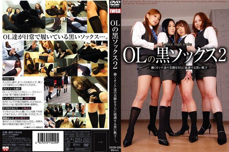 [IWGB-029] OLの黒ソックス 2